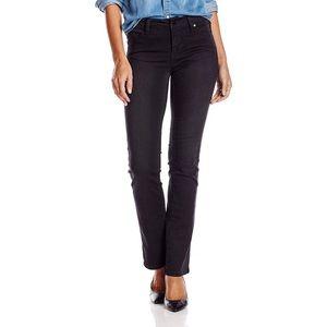 Liverpool Jeans Company Sadie Straight Black Jeans